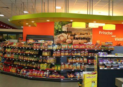 Innenausbau Verbrauchermarkt in Dachsbach