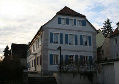 Evangelisches Gemeindehaus, Emskirchen