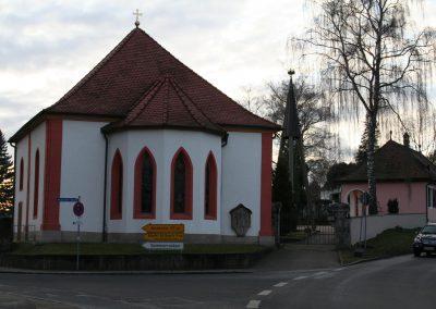 Auferstehungskirche mit Leichenhaus, Emskirchen