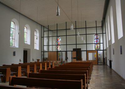 Kirchenrenovierung Herz-Jesu, Erlangen