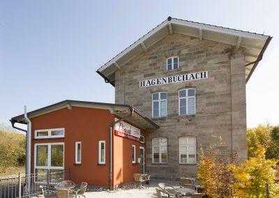 Sanierung Bahnhofsgebäude, Hagenbüchach