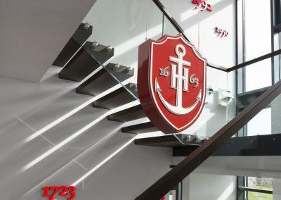 Eingangsbereich Brauerei Hofmann, Pahres